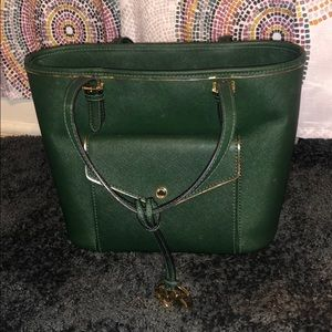 Michael Kors Dark green purse